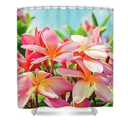 Pua Melia Ke Aloha Maui Shower Curtain