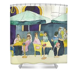 Pub In Harry Hjornes Plats Shower Curtain