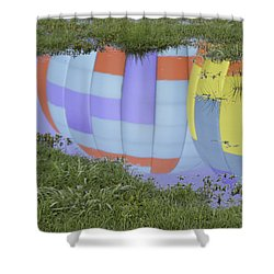 Puddle Reflections Shower Curtain