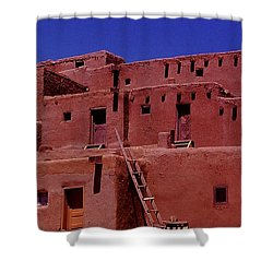 Pueblo Living Shower Curtain