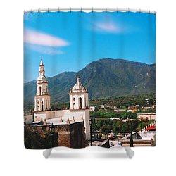 Pueblo Magico Shower Curtain