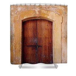 Puerta Vieja Shower Curtain