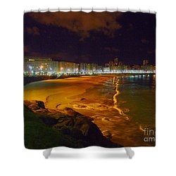 Puerto Rico Beach Shower Curtain
