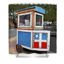 Puerto Rico - Lares  Shower Curtain