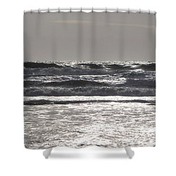 Puissance Oceane Shower Curtain