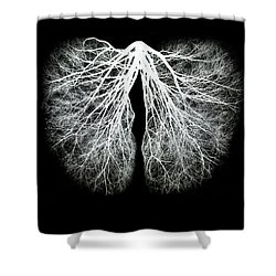 Pulmos Mundi Shower Curtain