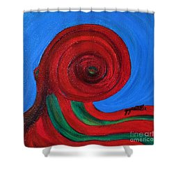 Pulpo Shower Curtain