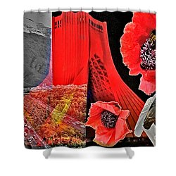Pulse Shower Curtain