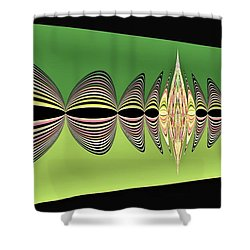 Pulse Two Shower Curtain