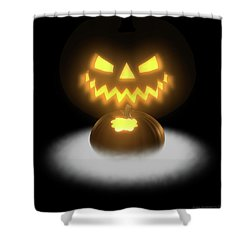 Pumpkin And Co II Shower Curtain