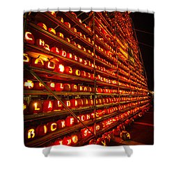 Shower Curtain featuring the photograph Pumpkin Festival 2015 by Robert Clifford