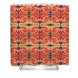 Pumpkin Spice 2- Art By Linda Woods Shower Curtain
