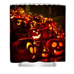 Shower Curtain featuring the photograph Pumpkinfest 2015 by Robert Clifford