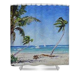 Punta Cana Bavaro - Sea Beach 14 Shower Curtain