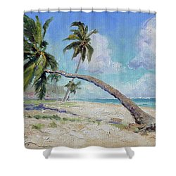 Punta Cana - Sea Beach 13 Shower Curtain