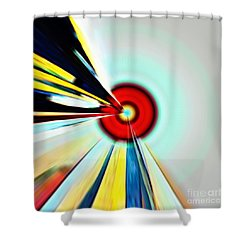 Farsighted  Shower Curtain