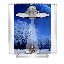 Puppy Love Shower Curtain by Marvin Blaine