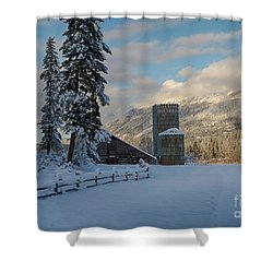 Purcell Barn Shower Curtain