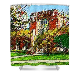 Purdue University Shower Curtain