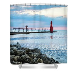 Shower Curtain featuring the photograph Pure Algoma by Bill Pevlor