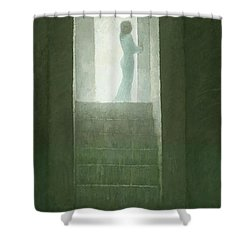 Pure Light Shower Curtain by Steve Mitchell