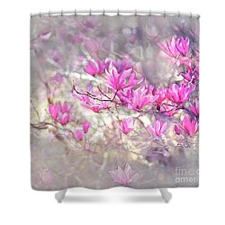 Pure Love Shower Curtain by Agnieszka Mlicka