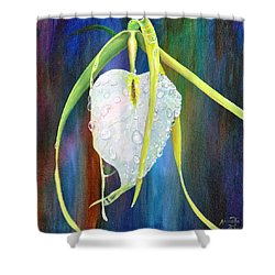Shower Curtain featuring the painting Pure Love by AnnaJo Vahle