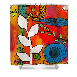 Pure Memories Shower Curtain by Angela L Walker
