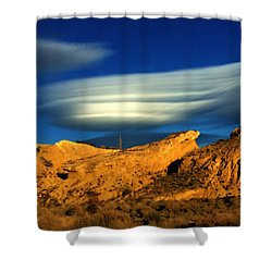 Pure Nature Spain  Shower Curtain by Colette V Hera Guggenheim