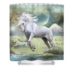 Pure Of Heart Shower Curtain
