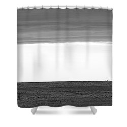 Pure Prairie Windmill Shower Curtain
