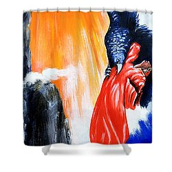 Purgatorio Shower Curtain
