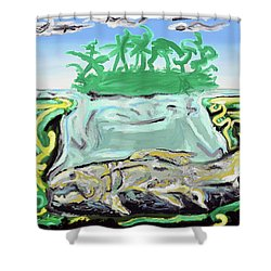 Purgatorium Praedator Shower Curtain