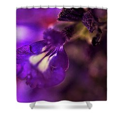 Purple Blends Shower Curtain