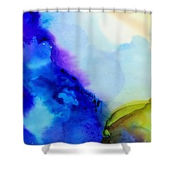 Purple Flow Shower Curtain