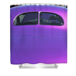 Purple Forty Shower Curtain
