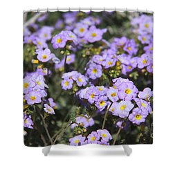Shower Curtain featuring the photograph Purple Fremont by Suzanne Oesterling