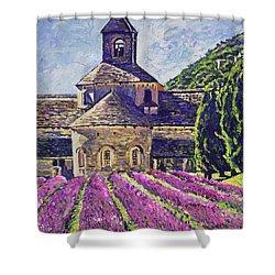 Purple Gardens Provence Shower Curtain