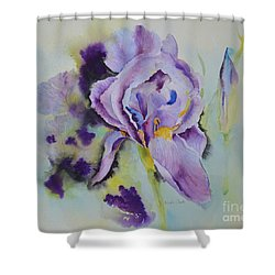 Purple Glory Shower Curtain