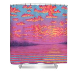 Purple Haze 01 Shower Curtain