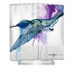 Da182 Purple Haze Daniel Adams Shower Curtain