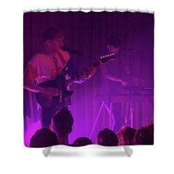 Purple Haze Shower Curtain by Robert Hebert