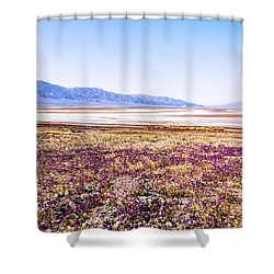 Purple Hazy Shower Curtain