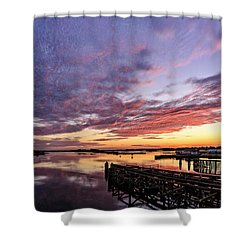Purple Icw Shower Curtain