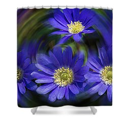 Purple In Nature Shower Curtain