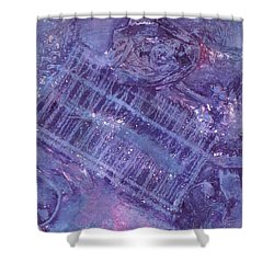 Purple Passion Shower Curtain by Vickie G Buccini