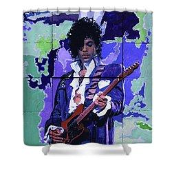 Purple Rain And Prince Shower Curtain
