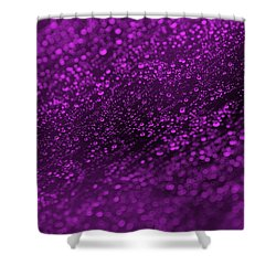 Purple Rain Shower Curtain