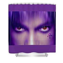 Purple Rain Purple Rain Shower Curtain
