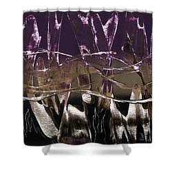Purple Royale Shower Curtain